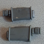 The Real Ghostbusters Ecto 3  spare Exhausts pair
